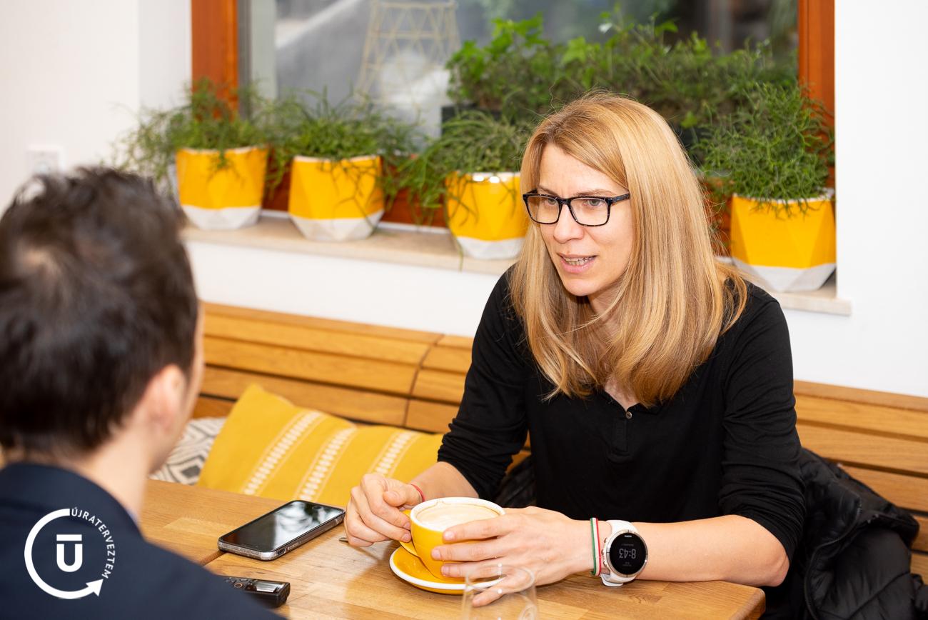 Marton-Mlecsenkov-Éva - CoffeeRUN alapító - Újraterveztem