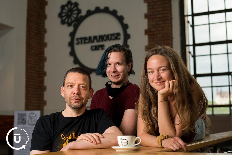 Lonkai Márton - Steamhouse Cafe csapata - Újraterveztem