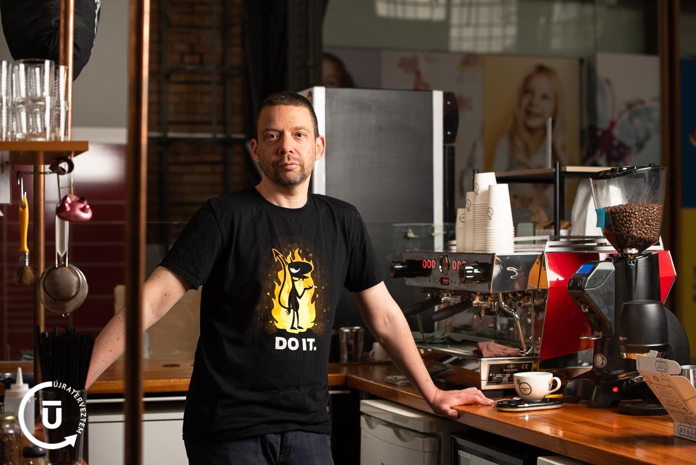 Lonkai Márton - Steamhouse Cafe alapító - Újraterveztem