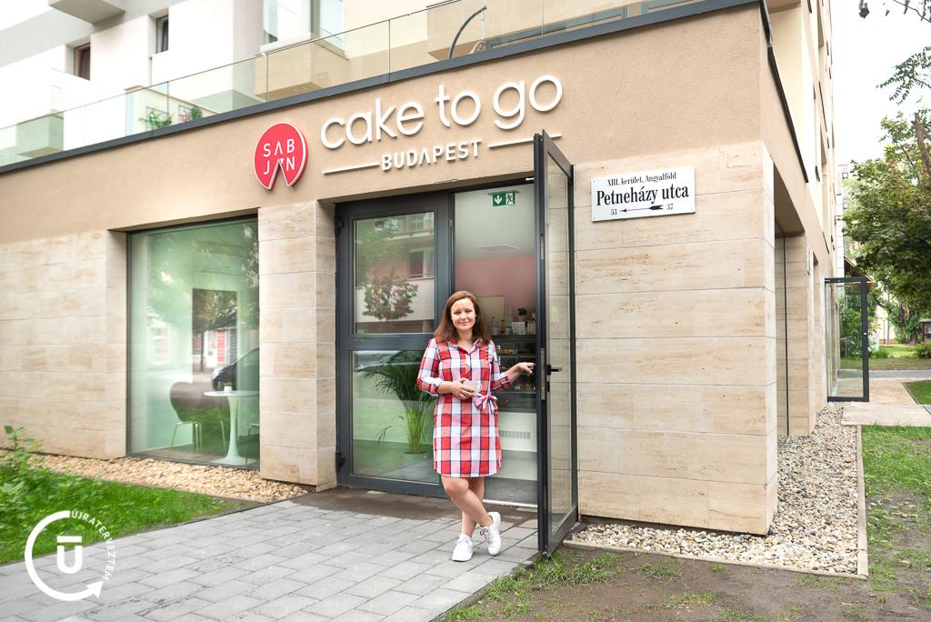 Sabján Adrienn - Cake to go Budapest - Újraterveztem
