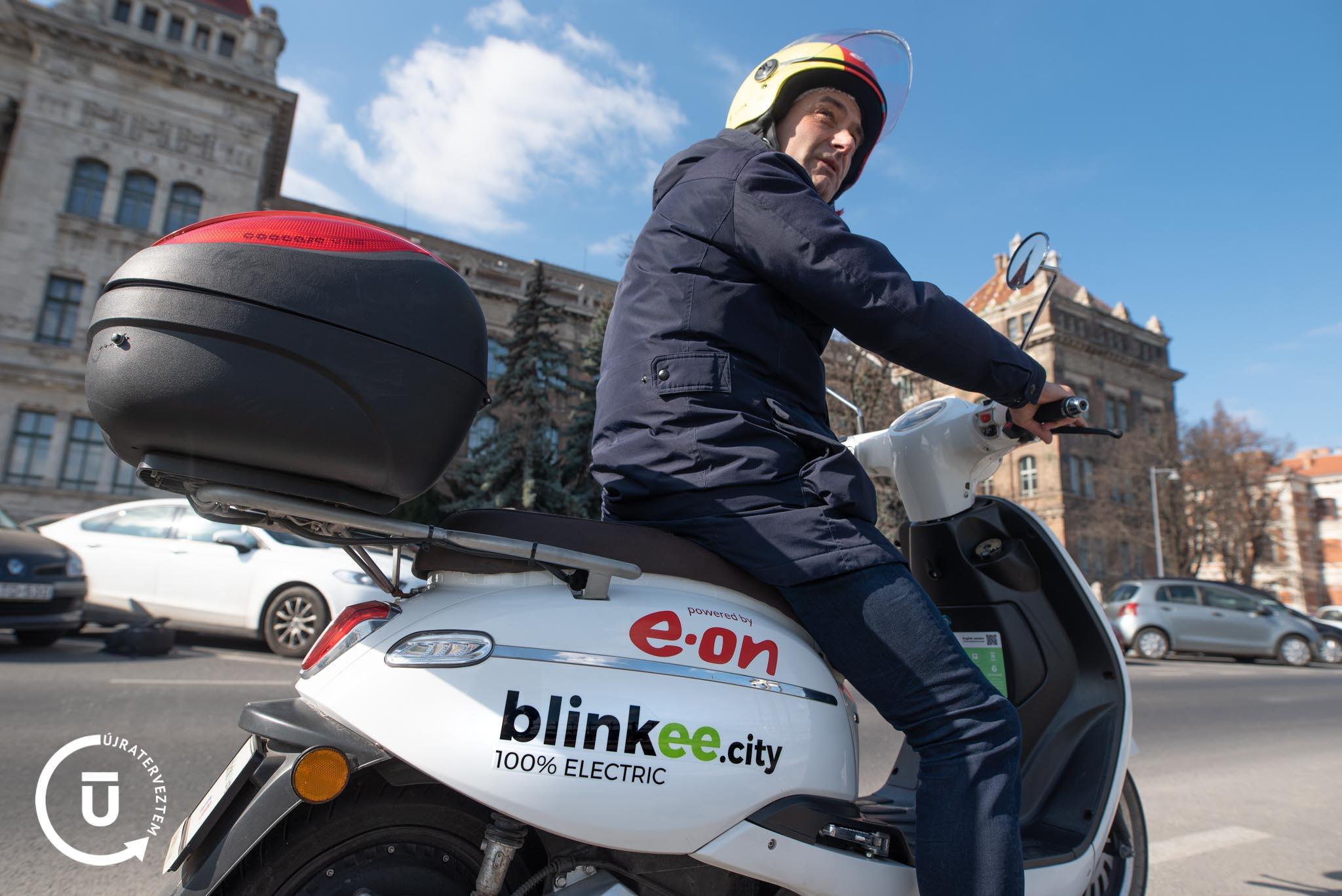 Varsányi Tamás, a Blinkee.city alapítója