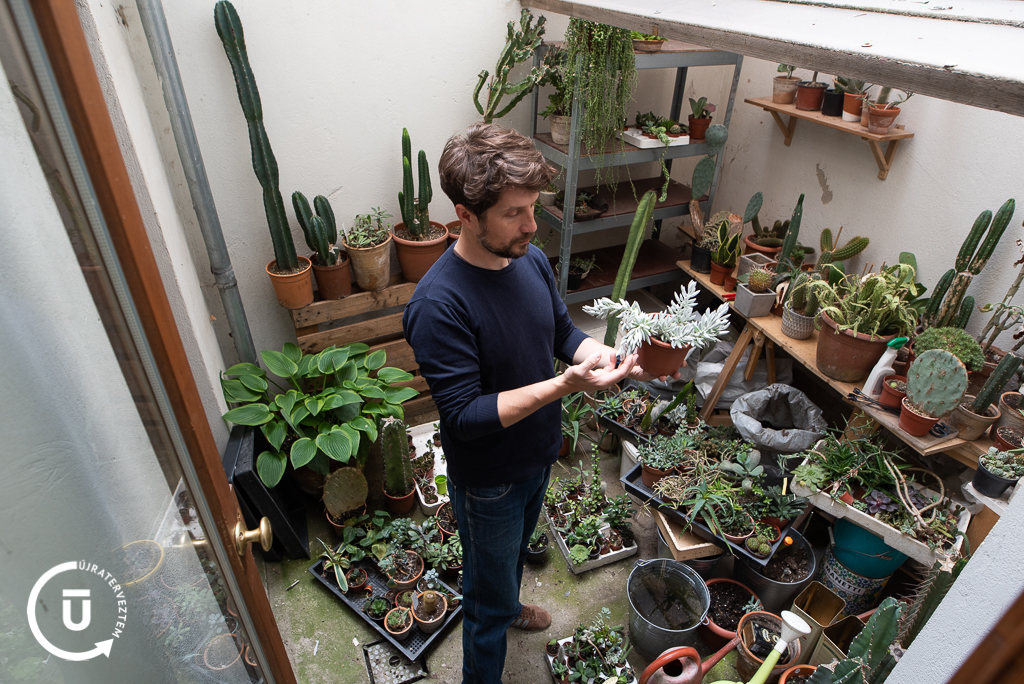 Erdész Dávid - a RisoPlant és a GreenGuideBudapest alapítója / Újraterveztem